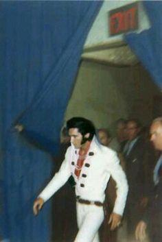 Elvis tras el Concierto. 1970