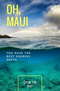 10 Maui Snorkeling Locations The coral reef structures in Maui are home to many species of marine life. Learn about the best snorkeling spots!The coral reef structures in Maui are home to many species of marine life. Learn about the best snorkeling spots! Hawaii Honeymoon, Hawaii Vacation, Maui Hawaii, Vacation Villas, Lahaina Maui, Vacations, Maui Travel, Travel Usa, Travel Tips