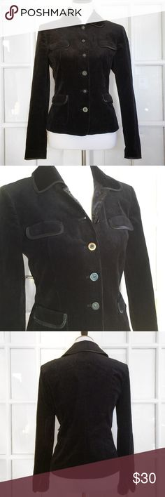INC Black Corduroy Jacket From INC International Concepts, this black corduroy jacket features a comfortable fit and a modern style detailing with prominent pockets and causal buttons. Made from 68% Cotton, 30% Rayon 2% Spandex Machine Wash Line Dry INC International Concepts Jackets & Coats Blazers