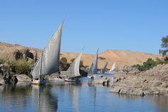 Felucca on the Nile ; Aswan ; Egypt