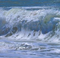 Ocean Pictures, Water Photography, Merfolk, Water Waves, Painting Process, Beaches, A4, Paintings, Explore
