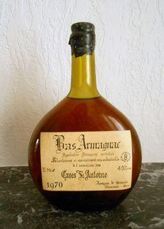Catawiki online auction house: Bas Armagnac 1970 Armagnac 40% Vol. J. Goudoulin Courrensan Gers