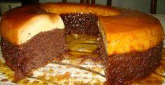 Veja a Deliciosa Receita de Receita de bolo pudim de chocolate. É uma Delícia! Confira!