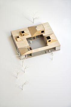 Since 1998 the Web Atlas of Contemporary Architecture Folding Architecture, Architecture Concept Diagram, Container Architecture, Contemporary Architecture, Architecture Design, Maquette Architecture, Architecture Models, Paper Folding Designs, Co Housing