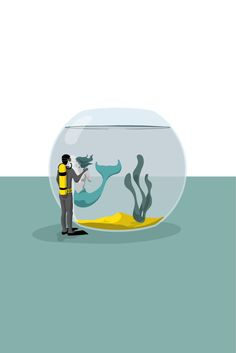 Love in a fishbowl