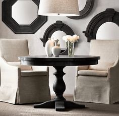 17th C. Monastery Round Dining Table | All Round Tables | Restoration Hardware!!!! On sale now-$955