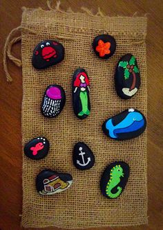 Under The Sea Story Stones                                                                                                                                                      More