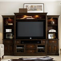 Turnbridge 4 Piece Wall Group by Hooker Furniture