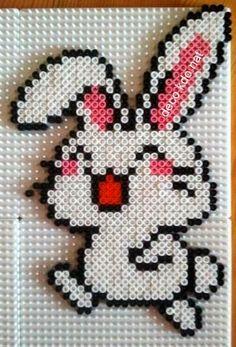 bunny perler bead