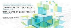 We are excited to be a partner on the Digital Frontiers 2015 Conference and THATCamp hosted at UT Dallas September 17-19! Keynote speakers are Carolyn Guertin of the University of Ontario Institute of Technology and Michael Edson of the Smithsonian Institution. For more information about the Digital Frontiers 2015 Conference or to register, please visit: http://digital-frontiers.org/conference/2015/. #DF15UTD