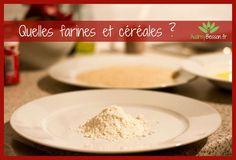 Quelle farine choisir pour une alimentation sans gluten? Voici la liste des farines et céréales pour un régime sans gluten.
