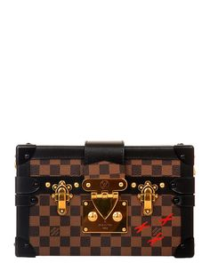 Limited Edition Damier Ebene Petite Malle by Louis Vuitton at Gilt