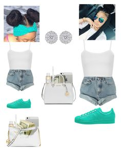 """""""BabyGurl Always Wonna Match Mommy"""" by queen-miy ❤ liked on Polyvore featuring adidas Originals, Levi's, Topshop, Dolce&Gabbana, MICHAEL Michael Kors and Michael Kors"""
