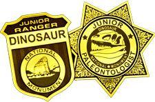 Junior Ranger & Junior Paleontology programs for children at Dinosaur National Monument.
