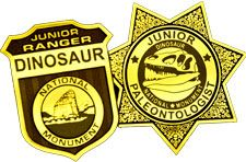 Junior Ranger & Junior Paleontology programs for children at Dinosaur National Monument.