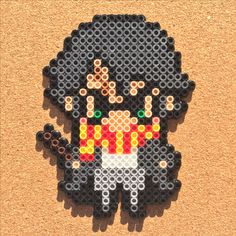 Harry Potter perler beads by Tsubasa Yamashita