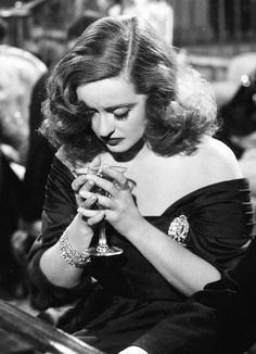 Bette Davis. All About Eve, one of her best films!