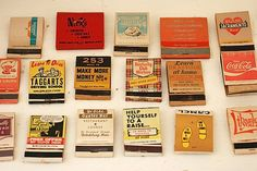 Vintage Matchbook Covers Vintage Matchbooks by TheNewtonLabel, $7.00