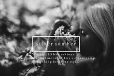 Check out Silver Somber - Photoshop Actions by Erin Hensley Photography on Creative Market