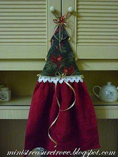 Christmas Tree Towel