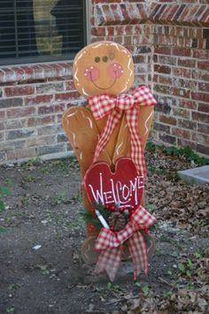 Cute Gingerbread man.