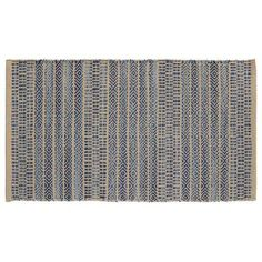 "HFLT Sahara Jacquard Khaki/Blue Area Rug Rug Size: 1'9"" x 2'10"""
