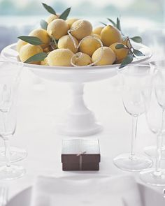 Sugared lemon centerpiece #matildetiramisu #concorso