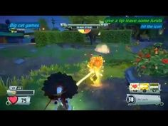 Plants Vs Zombies Garden Warfare 2 Beta Gameplay Vampire Sunflower PS4 X...