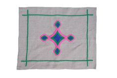 Gods Eye Pink Placemats - Heather Taylor Home - $100.00 - domino.com