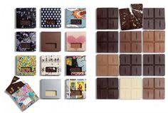 'Chocolates with Attitude' by Danish company Bessermachen DesignStudio. These chocolates were designed in cooperation with chocolate artist Henrik Konnerup.