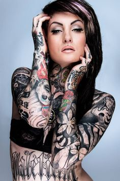 Beautiful Tattooed Girls & Women Daily Pictures. For your Inspiration... #girltattoos