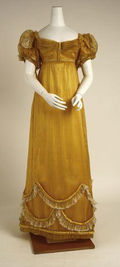 1818 Evening dress   British   The Metropolitan Museum of Art