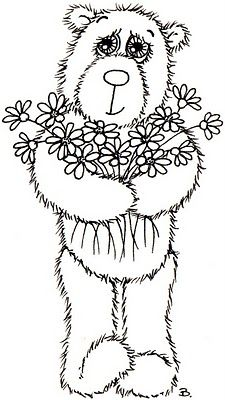 Beccy's Place: Flower Bear