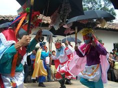 National Folklore Ballet. Panchimalco, El Salvador. Photo by: Ana Silva