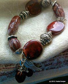 #africa #BritishColumbia #Kazuri #beads #beadshow #mysteriesoflife #kenyawomen #kenya #tanzania #beadbracelets #swahili  #earthyredsoil #falcon
