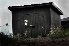 Secret underground military bunker. Nuclear-proof and the entrance is hidden in this small house.