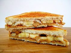 Banana and pb sandwich
