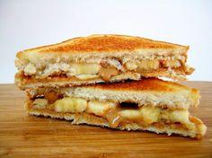 Banana and pb sandwich