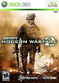 Call of Duty Modern Warfare 2 Xbox 360 COMPLETE online multiplayer co-op CoD:MW2