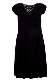 Vestido FiveBlu Beira Preto