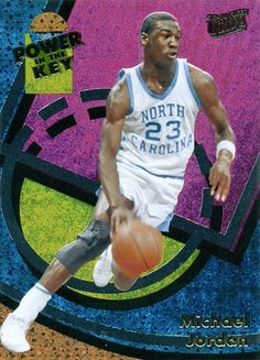 The all new Fleer Retro inserts with Michael Jordan retro Scoring Kings, Power in the Key, PMGs, Team Leader and more. Michael Jordan Basketball Cards, Michael Jordan Unc, Jordan 23, Jordan Retro, Air Jordan, Old Baseball Cards, Chapel Hill Nc, Action Images, Unc Tarheels