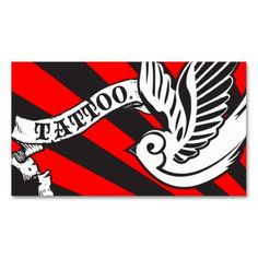 95 best tattoo artist business cards images on pinterest artist sparrow tattoo business card wajeb Images