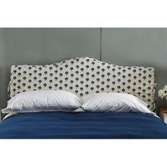 Skyline Furniture Linen Upholstered Headboard Size: California King