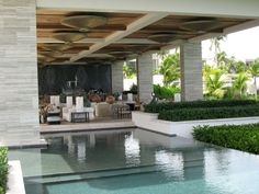 Exterior Indoor Outdoor Pool Design Ideas In The Lounge Room Ideas With Wooden Ceiling Extraordinary Outdoor Design Ideas Outdoor Patio Desi...