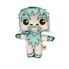 So it's not TRULY a holiday guy but he does make me think of the Bumble... Yeti Plush Doll by StudioLongoria on Etsy, $19.99