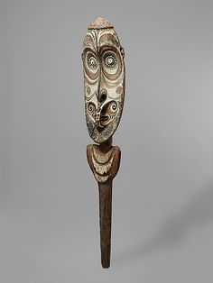Ceremonial Fence Element.  Date:     late 19th–early 20th century. Geography:     Papua New Guinea, Kararau village, Middle Sepik River. Culture:     Iatmul people.