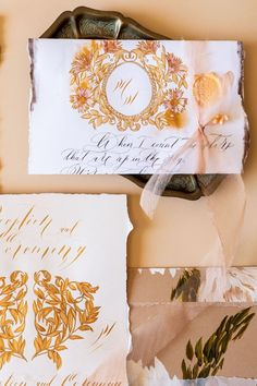 White and gold hand painted wedding invitations inspired by Italy for a luxury destination wedding Luxury Wedding Venues, Destination Wedding, Italian Wedding Invitations, Lake Como Wedding, French Wedding, London Wedding, Italy Wedding, Wedding Stationery, Villa