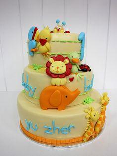 Animal Cake! Super cute!