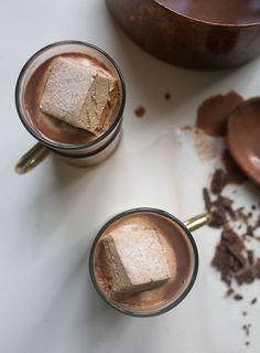 How to Make Fancy-Ass Hot Chocolate // www.acozykitchen.com