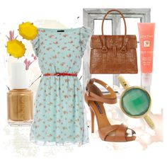 Summer, created by lanaconsoli on Polyvore